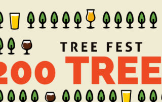 1200 trees planted at Tree Fest
